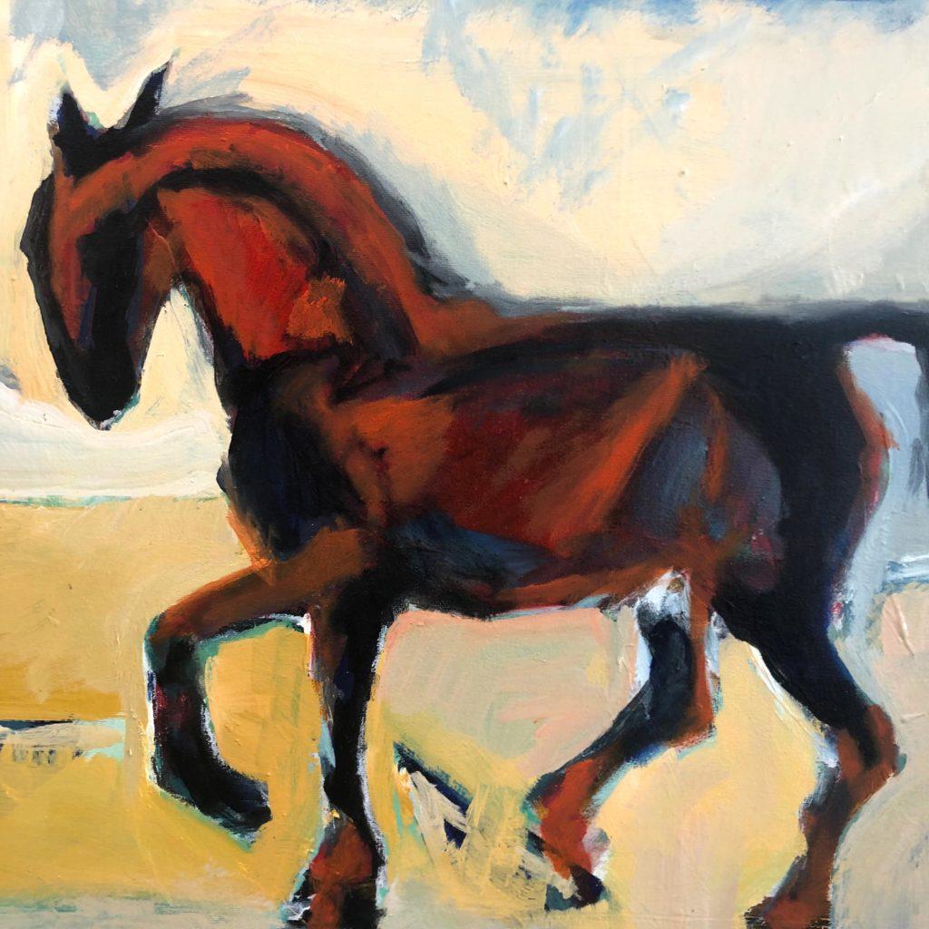 Laure Saigne Artiste peintre piaffe