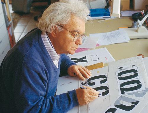 typographiste Adrian Frutiger